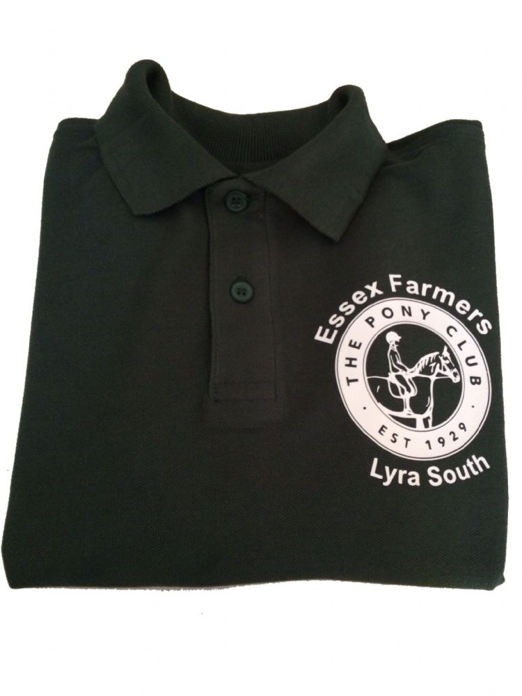 CHILD Essex Farmers Bottle Green Polo Shirt